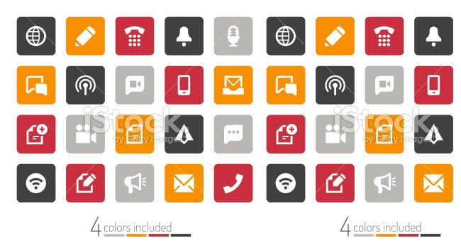 communication ui icons