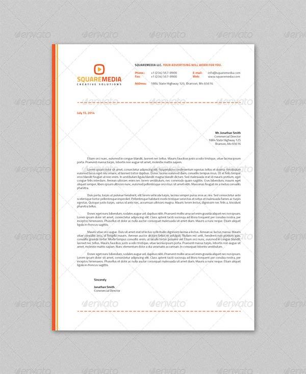 psd letterhead template  u2013 51  free psd format download