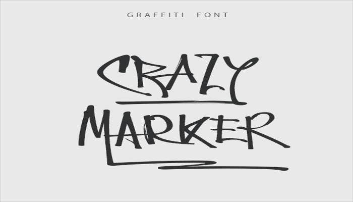 crazy-marker-graffiti-font