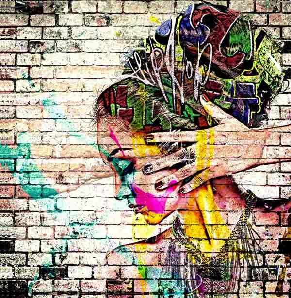 creative graffiti street art 4