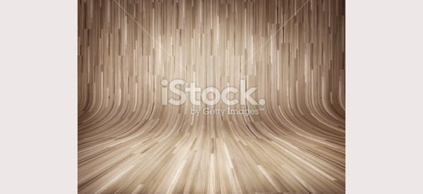 Curved wooden parquet background