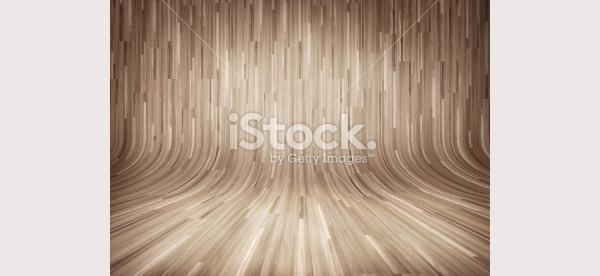 curved wooden parquet background