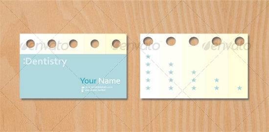 dentist business card7