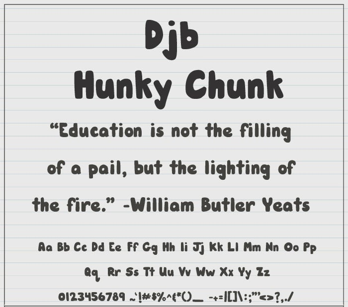 DJB Stylish Fonts