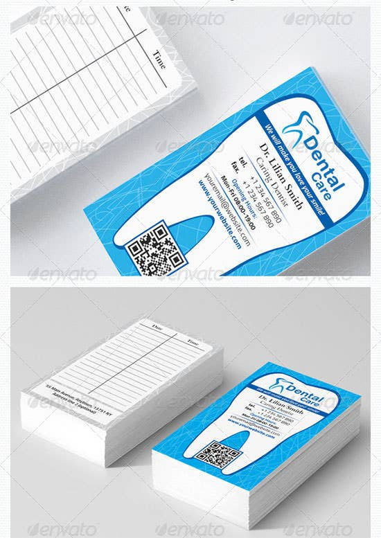 dental business card3