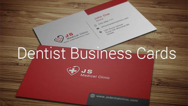 dentistbusinesscardpsd