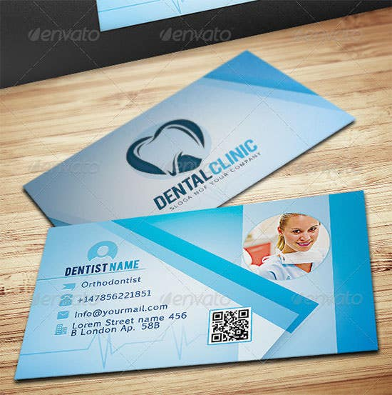 dentist business card3