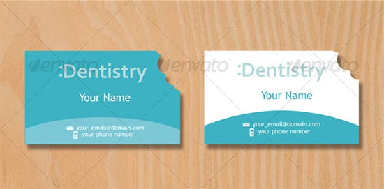 dentist business card hola klonec co