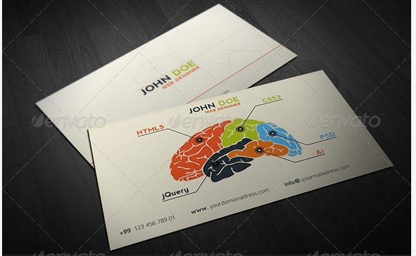designer business card graphicriver