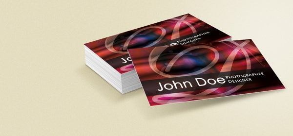 designer business cards