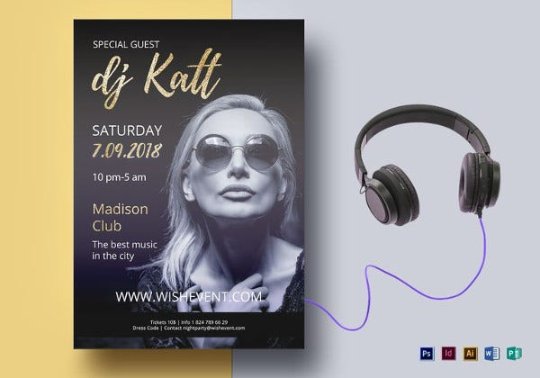 dj flyer template2