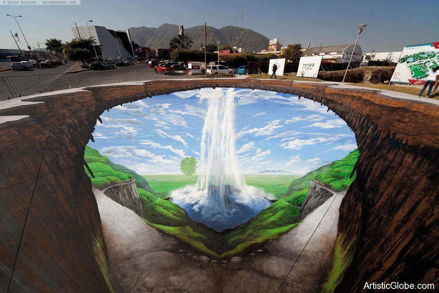 edgar mueller 3d street art copy