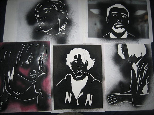 48 Awesome Graffiti Amp Spraypaint Stencils For Your