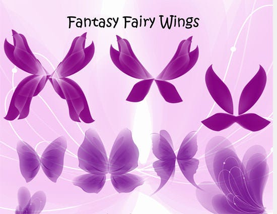 fantasy fairy wings set