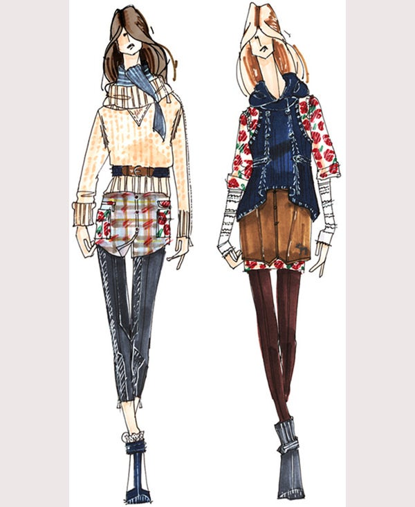50 Best Fashion Design Sketches For Your Inspiration