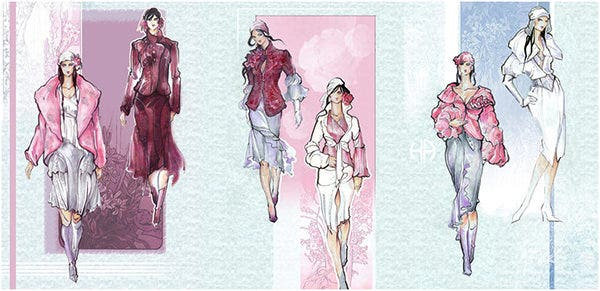 Fashion Sketches - Abal