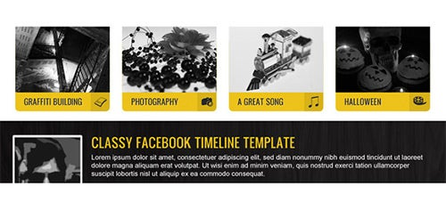 fashy facebook timeline template