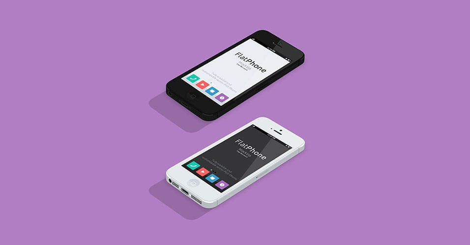 Flat-Design-iPhone5