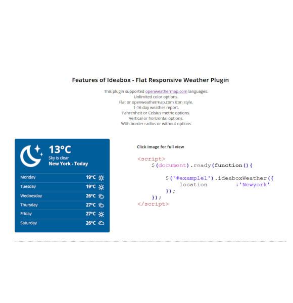flat-responsive-weather-plugin