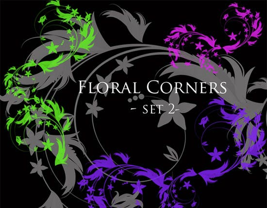 floral corners