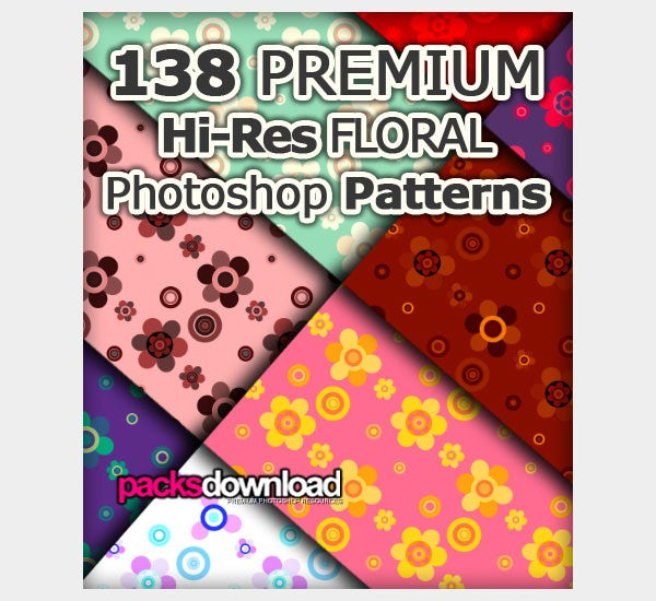 floral photoshop patterns1