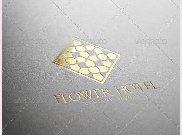 Flower Hotel Logo GraphicRiver