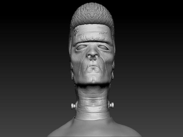 Frankenstein 3D Sculpture