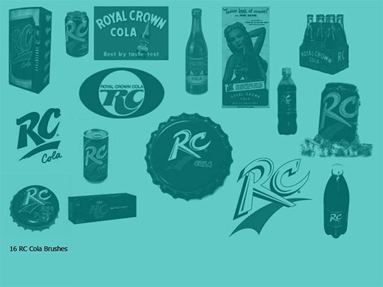 free rc cola brushes