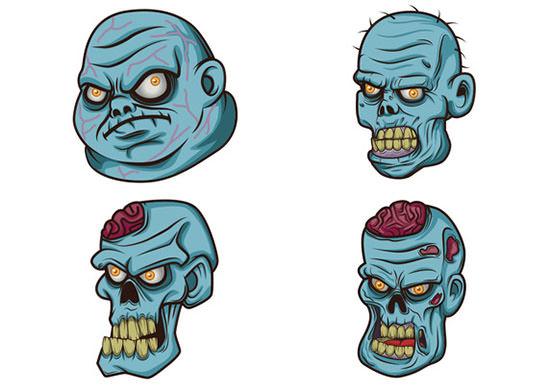 free zombie vectors