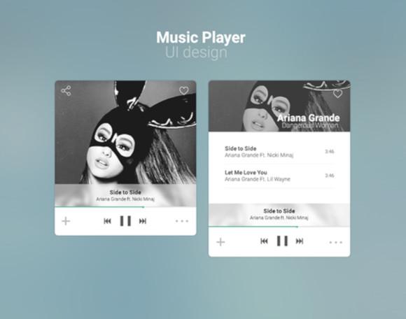 freemake audio converter ui concept