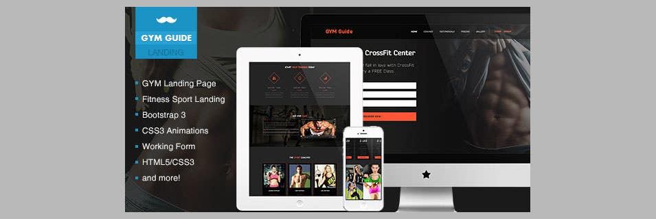 gym guide fitness landing page1