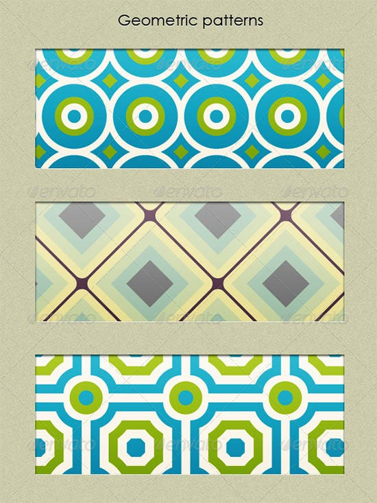geometric patterns set