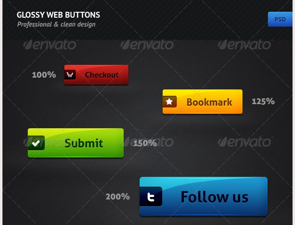 glossy web buttons1