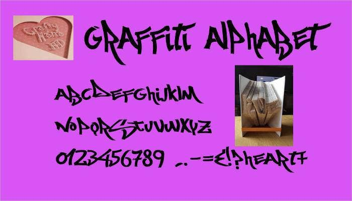 25 premium graffiti style fonts free download free premium graffiti number font style free download thecheapjerseys Image collections