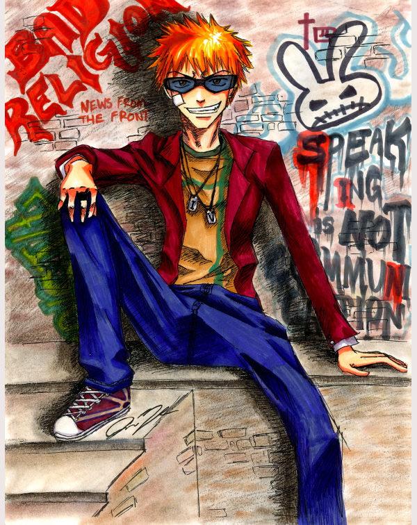 graffiti ichigo