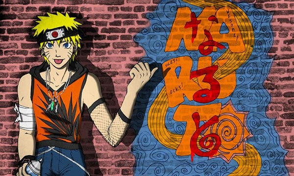 Graffiti Naruto