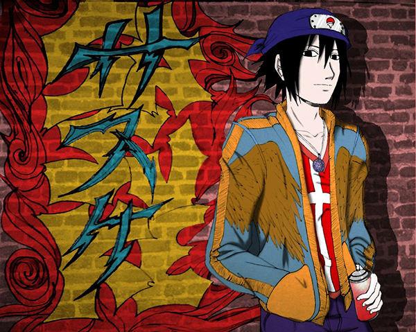 Graffiti Sasuke
