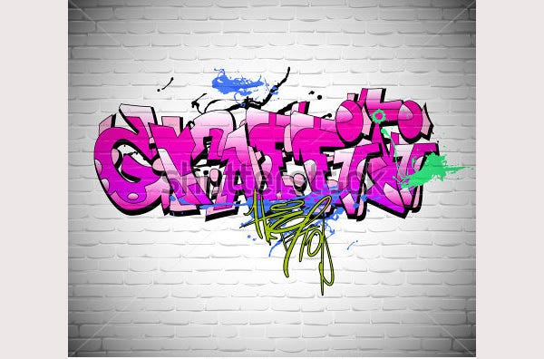 graffiti wall background1