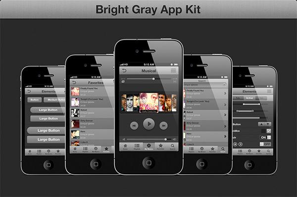 gray gui ios kit