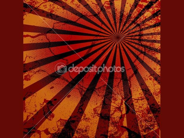grunge wall texture retro sunburst