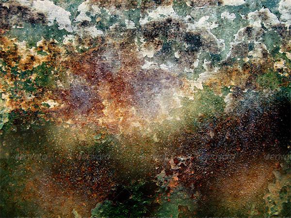 grungy rust metal textures