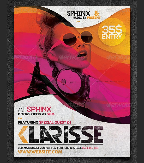 30 stylish psd dj flyer template designs in word publisher ai