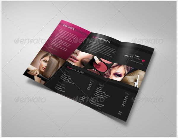 Beauty Parlour Brochure Template – 35+ Free Jpg, Psd, Indesign