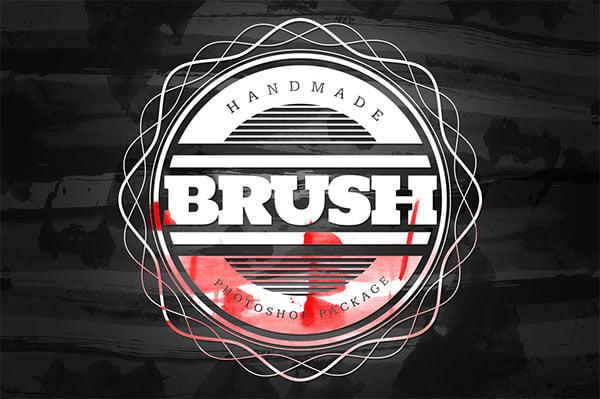 handmade brush packs set