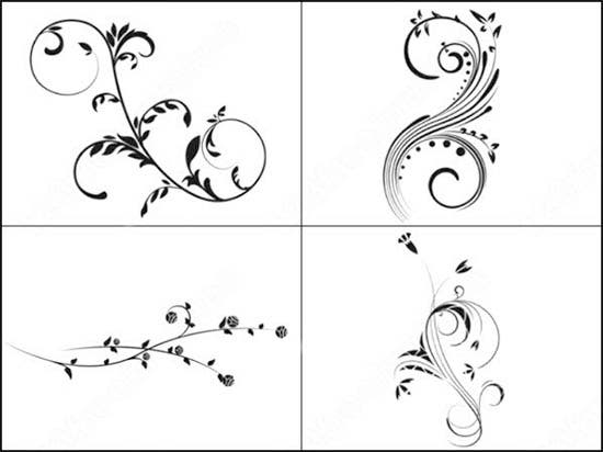 hi res brushes for photoshop floral