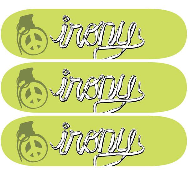 irony skateboards