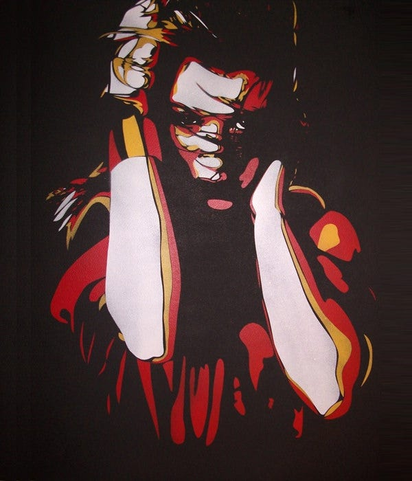 kelly stencil art