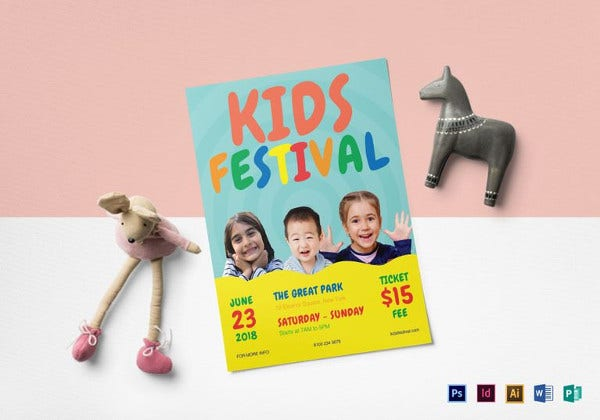 kids-festival-flyer-template