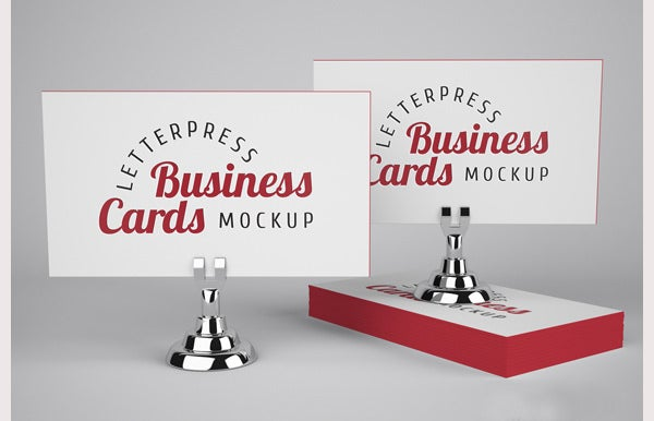 letterpress business cards mockup1