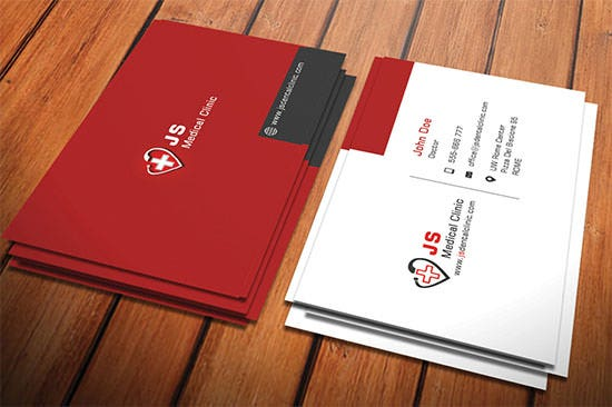 Dentist  Dental Clinic Business Card Template   Free Psd Format